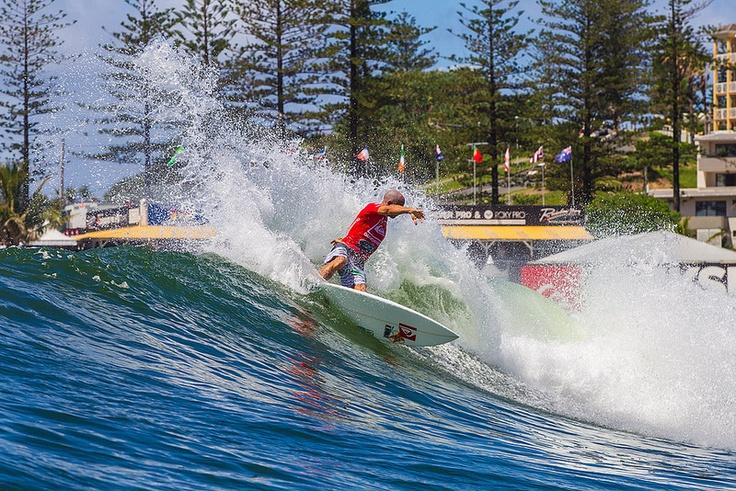 Kelly Slater - Quiksilver Pro Gold Coast 2013 ©ZAZ