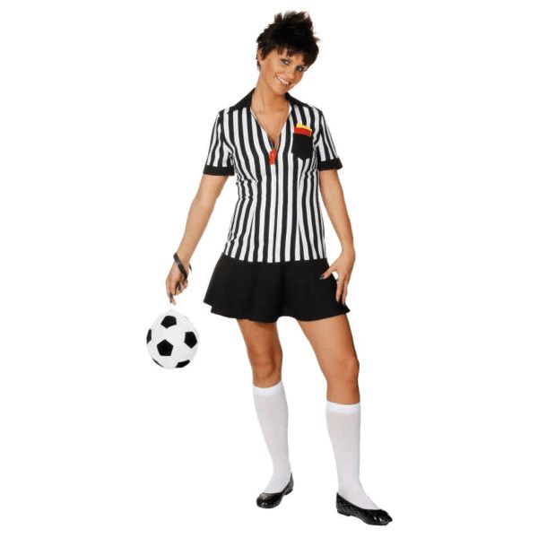 female football referee costume 51 aud liked on polyvore featuring costumes football football halloween - Halloween Costume Football