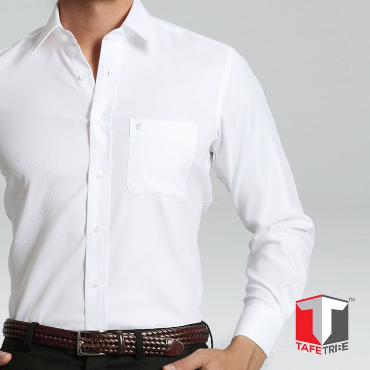 #TipTuesday  To keep your whites new and stylish, try rubbing a piece of lemon and a tablespoon of baking soda on any stain. Leave it for 15 minutes and wash with warm water.  Get the classy #White Mattrix #Shirt TODAY, suitable for all occasions, formal