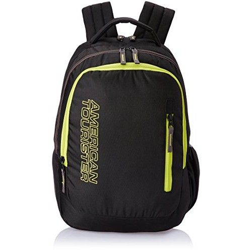 American Tourister 18 Liters #Black and Lime #Casual #Backpack (45W (0) 09 002)