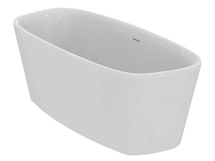 Vasca da bagno centro stanza in ceramica DEA - E3066 by Ideal Standard Italia