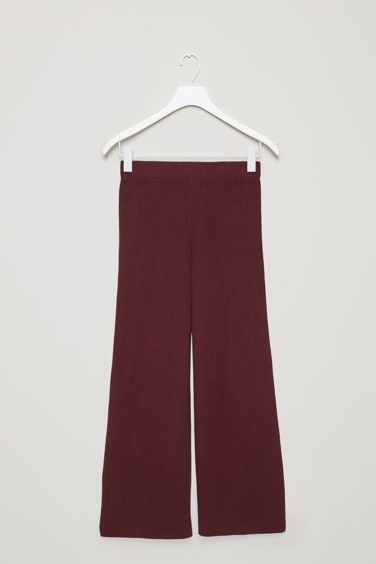COS | Knitted wide-leg trousers