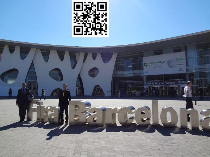 Feria de Barcelona Construmat celebrada en 2013 en la que participamos