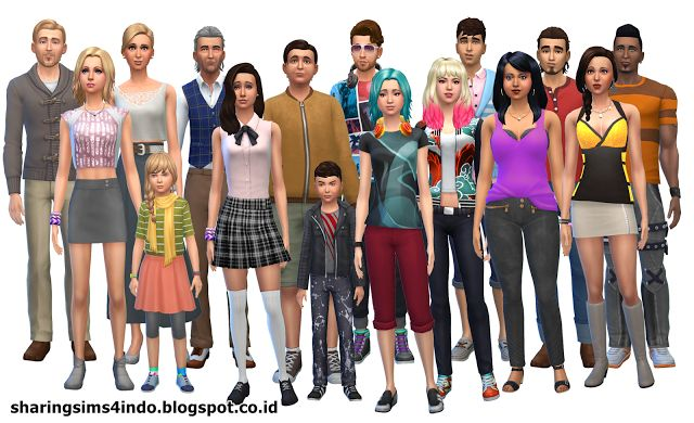 Windenburg Residents #world #sims4