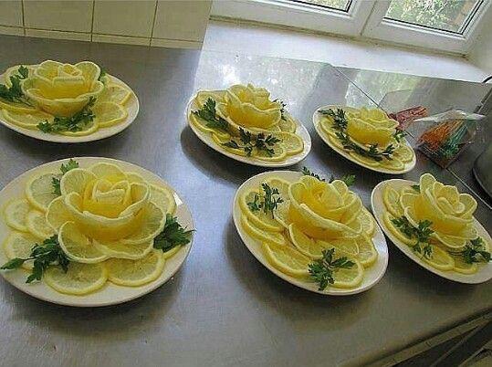 Limon sunumu
