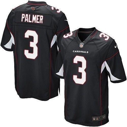 Carson Palmer Nike Elite Stitched Alternate Jersey (black)
