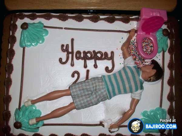 Sensational Funny Birthday Cake Funny Weird Birth Day Cakes Fun Humor Images Personalised Birthday Cards Xaembasilily Jamesorg