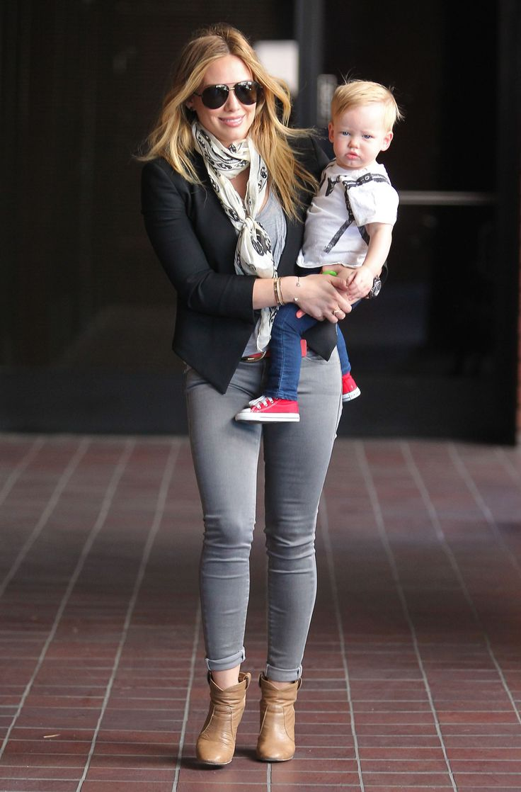 Hilary Duff Runs Around LA With Luca and Celebrates Her Book Release | News & Pictures
