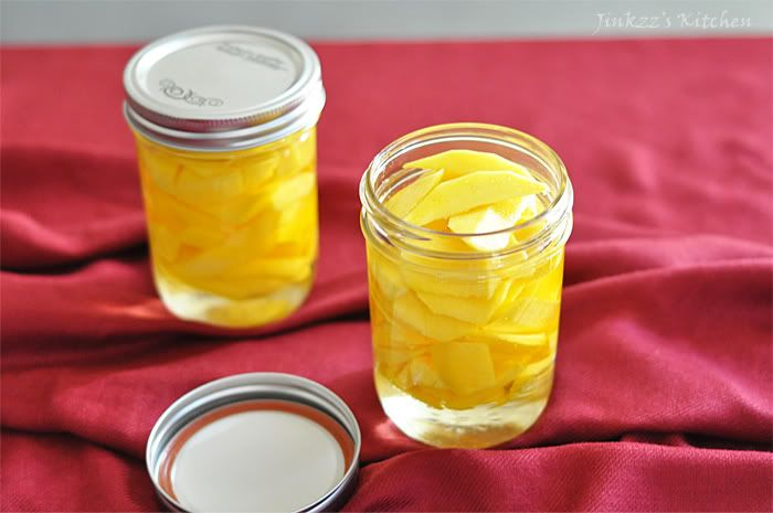 Burong Mangga (Pickled Mango)