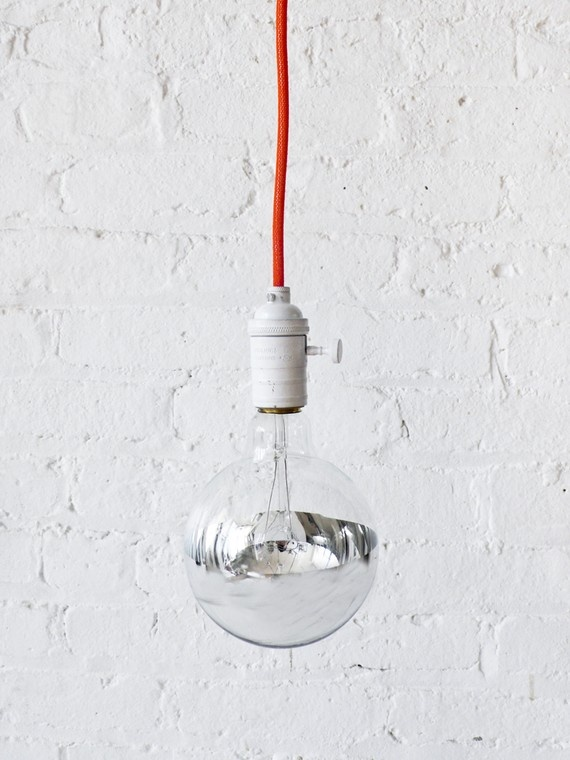 Oh man, I love everything about this pendant / lightbulb combo. #Pendant, #Light