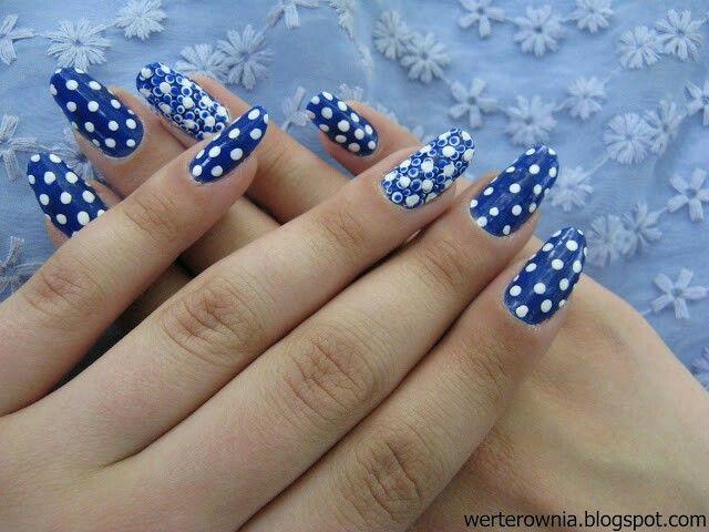 #Werterownia #kropki #dots #nails #paznokcie