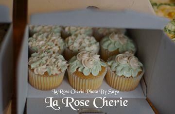 La Rose Cherie(ラ・ローズ・シェリー)-デコレーション カップケーキ