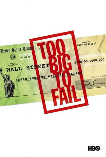 Too Big to Fail (2011) | http://www.getgrandmovies.top/movies/15451-too-big-to-fail | Based on the bestselling book by Andrew Ross Sorkin, 'Too Big to Fail' offers an intimate look at the epochal financial crisis of 2008 and the powerful men and women who decided the fate of the world's economy in a matter of a few weeks.