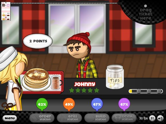 PAPAS PANCAKERIA HACKED play at http://www.friv4school2015.com/action/papas-pancakeria-hacked Can you playing Papa's Pancakeria at Friv4school. Mission of the game is to run a pancake shop and keep the customers happy. Earn enough tip and purchase upgrades. Enjoy the work in Papas Pancakeria!