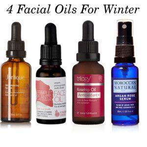 4 Facial Oils for Winter Skin