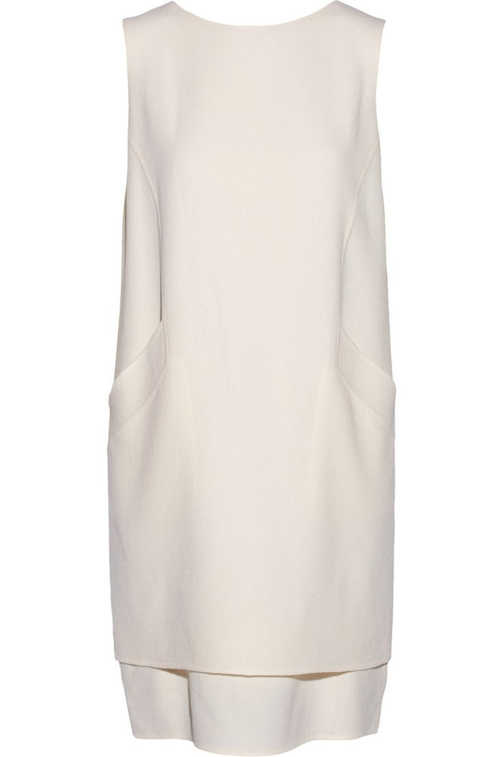 Oscar de la Renta | Wool-crepe shift dress | NET-A-PORTER.COM