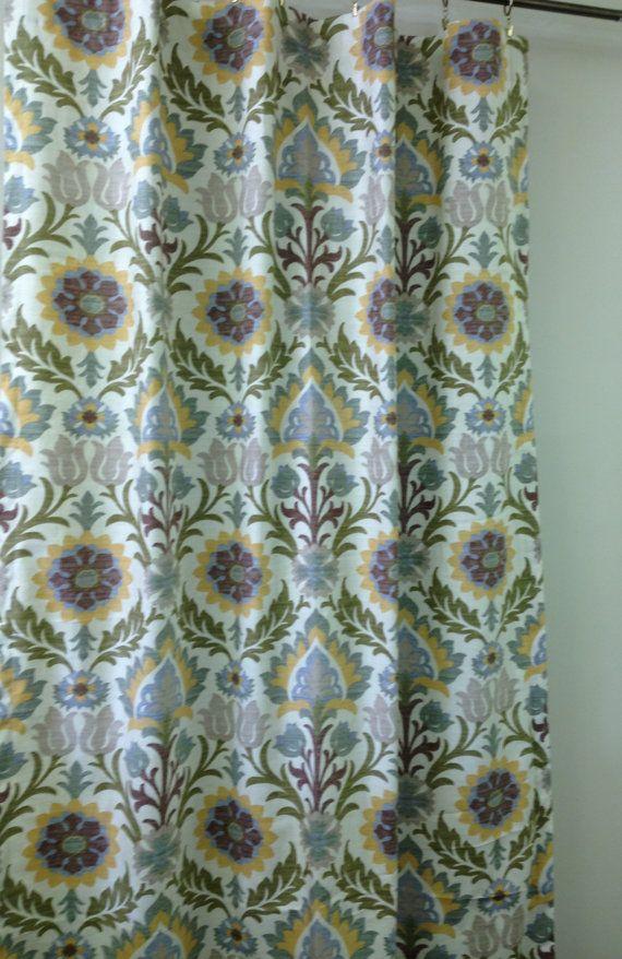 Fabric For Kitchen Curtains   Waverly Santa Maria Pebble