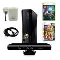 XBOX 360 Slim 4GB Kinect Super Bundle with 2 Games, Charger For $369.49 plus Free Shipping