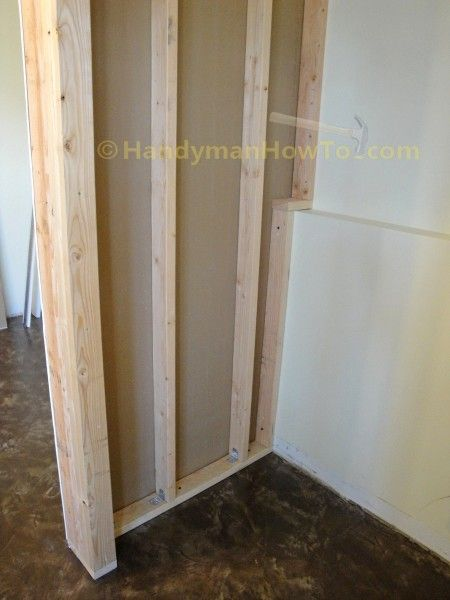 How to Build a Closet: Drywall Installation