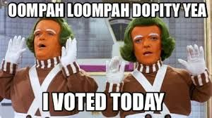 Image result for I voted meme