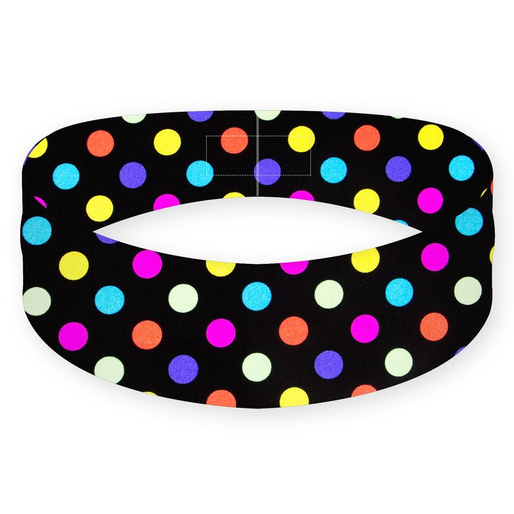 The name says it all. This colourful array of polka dots can put a smile on anyone's face and a bounce in anyone's step. On top of the boost in mood it may help you achieve, it will also help boost your performance with its superior fit and sweat resistant material.