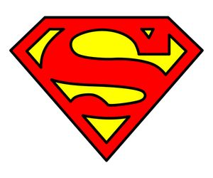 superman logo vetor clip art