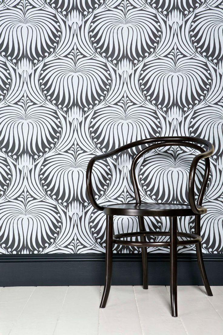 Farrow & Ball- Lotus PaperArt Crafts, Farrow Ball, Lotus Paper, Lotus Wallpapers, Interiors Design, Wallpapers Pattern, Wall Prints, Hands Drawing, Art Deco