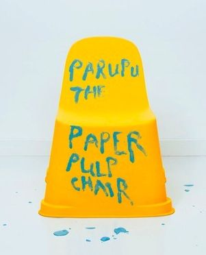 """""""Parapu The Paper Pulp Chair"""" - published 2009 by Södra, Sweden."""