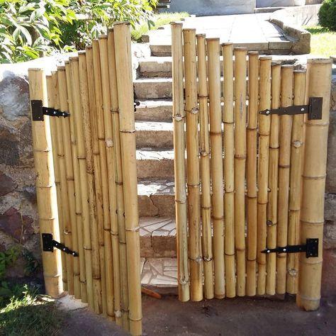 Artesanato com bambu: 70 ideias para decorar o seu lar