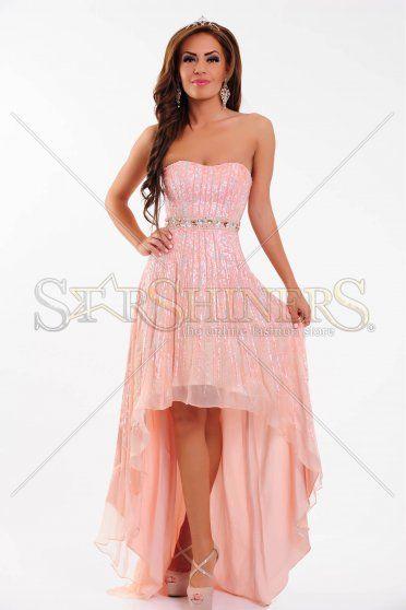 Rochie Sherri Hill 8503 Peach