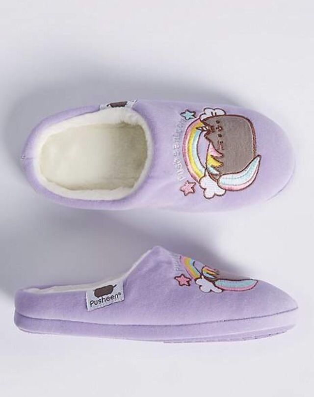 ab185ce35724 Aren t these unicorn Pusheen slippers so cute   pusheen  cats  catlady   affiliate