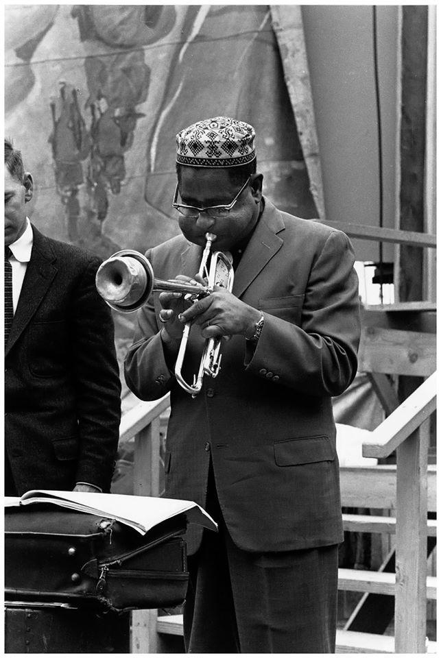 Dizzy Gillespie in 1958 at the Monterey Jazz Festival