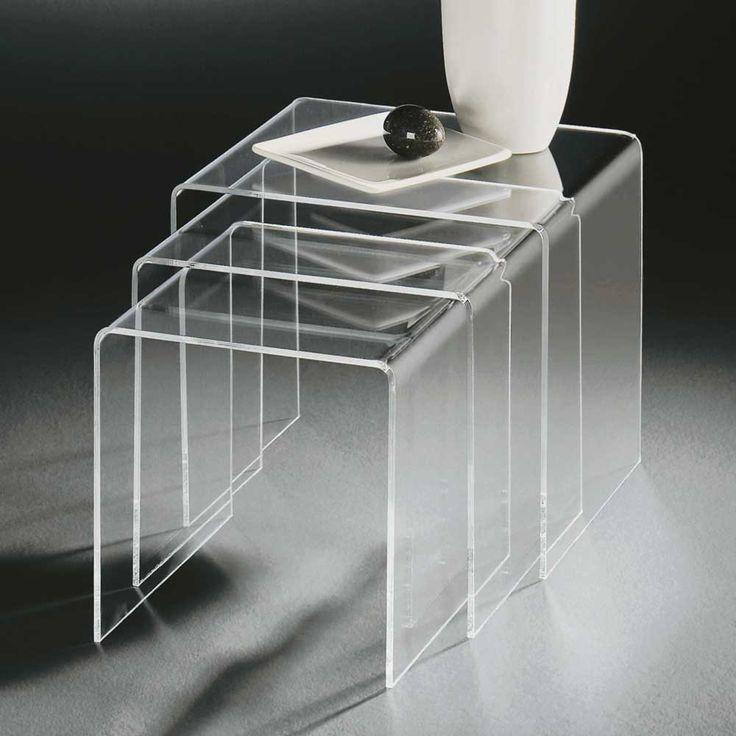Tischchen Set Aus Acrylglas Modern 3 Teilig Jetzt Bestellen Unter Moebelladendirektde Wohnzimmer Tische Satztische Uidf11444b1 Fed9 5983 8bf8