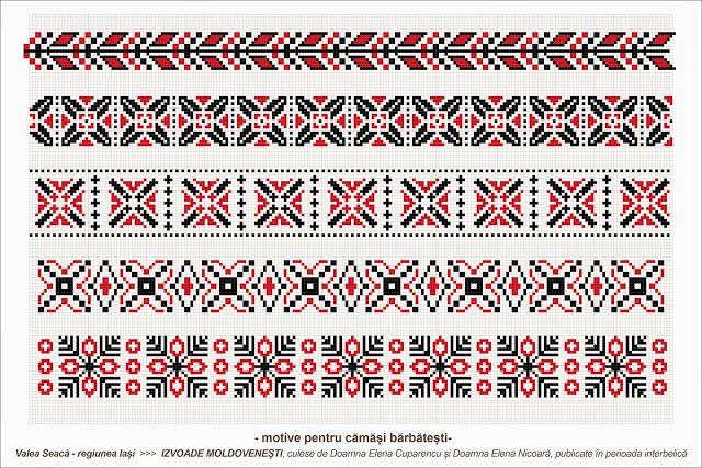 Semne Cusute: romanian traditional motifs - MOLDOVA - Iasi - sat...