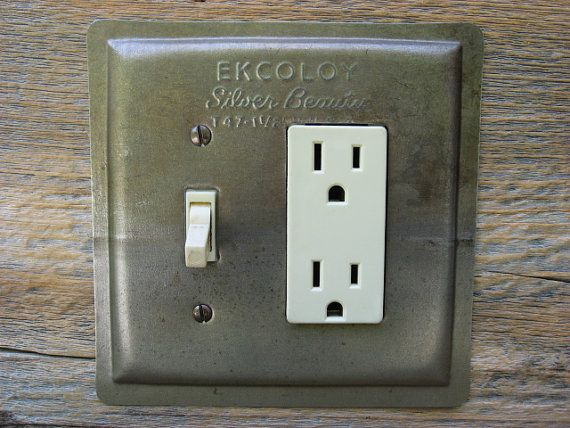 Charming Antique Bakeware Light Switch Covers GFCI Combo