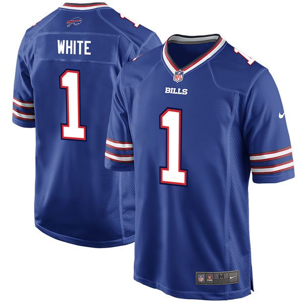 Men's Buffalo Bills Tre'Davious White Nike Royal 2017 Draft Pick Game Jersey