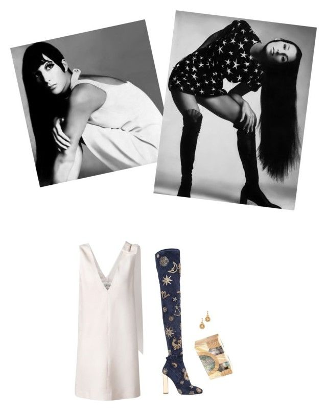 Cher for Vogue, November 1969 by venus-in-fleurs on Polyvore featuring polyvore fashion style Valentino Emilio Pucci Lanvin Versace clothing