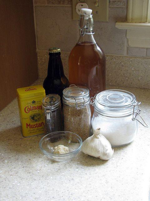 Mustard Ingredients by Smedette, via Flickr