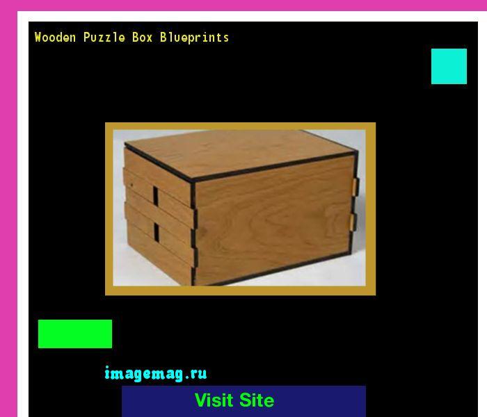 Wooden Puzzle Box Blueprints 102832 - The Best Image Search