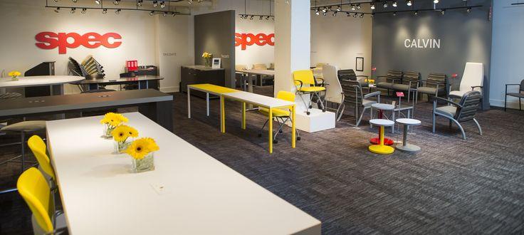 Spec Furniture Showroom | #NeoCon16
