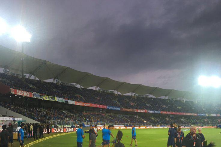 Live Score Cricket India vs New Zealand 3rd T20I in Thiruvananthapuram: Rain Clouds Loom Over Decider