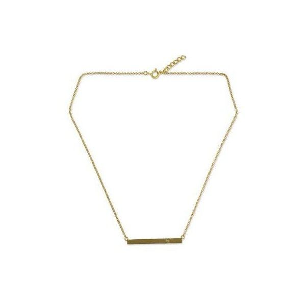 NOVICA Handmade Gold Vermeil Bar Necklace with Peridot ($58) ❤ liked on Polyvore featuring jewelry, necklaces, bar, clothing & accessories, gold plated, sparkly necklace, 24 karat gold necklace, 24-karat gold jewelry, pendant necklaces and peridot jewelry
