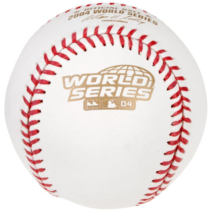 2004 MLB World Series Baseball