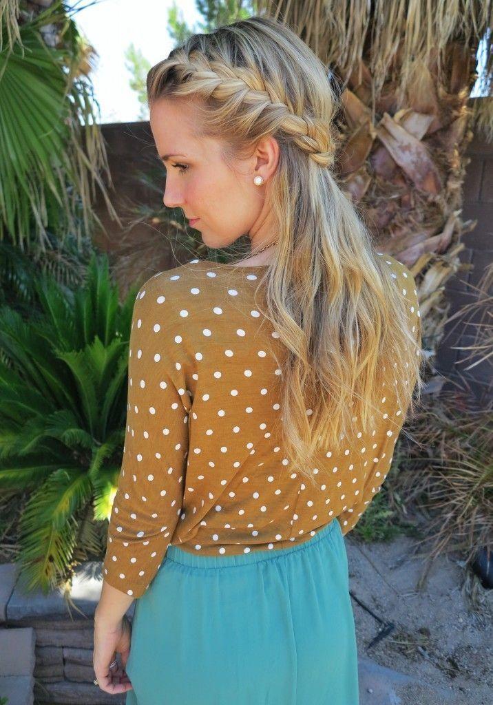 polka dots and braids