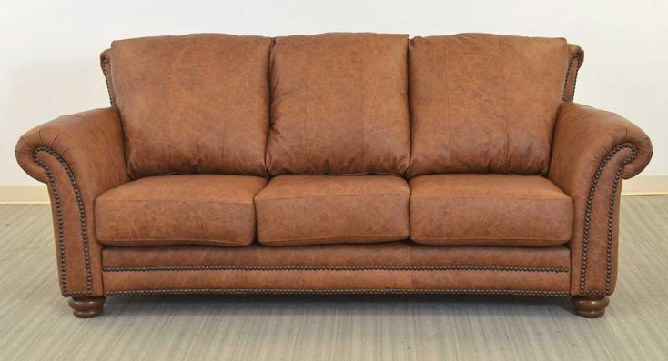The Angela Sofa Is Made In Texas Usa Vintage Leather