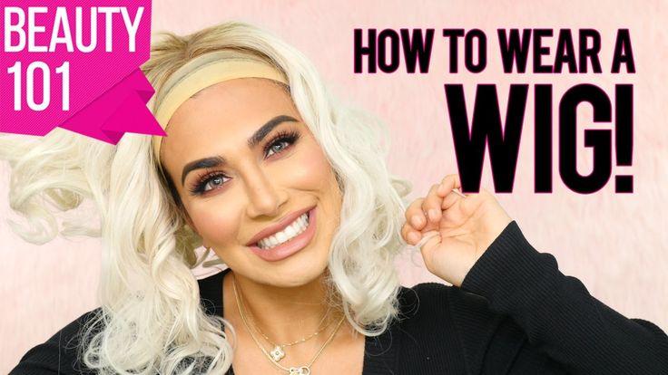 How to wear a wig! | طريقة تركيب الشعر المستعار