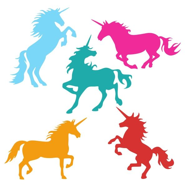 Unicorn Wall Stickers Decals