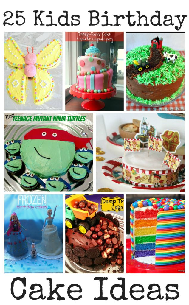 25 Awesome Kids Birthday Cake Ideas - In The Playroom