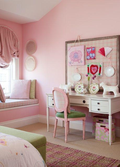 Plaid Girls · Girls Bedroom ColorsPink ...