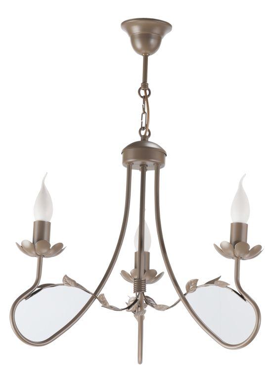 Lampa wisząca ELEONORA 3  w stylu romantycznym dostępna na naszej stronie www.przystojnelampy.pl   #lampa #wisząca #lamp #lamps #lampy #oświetlenie  #styl romantyczny #romantic #romantyczny